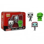 Nightmare Before Christmas Pocket Pop! 3 Pack in Tin