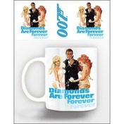 James Bond Mug, Diamonds Are Forever