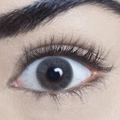 Pearl Grey 1 Day Natural Coloured Contact Lenses (MesmerEyez)