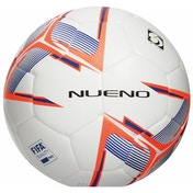 Precision Nueno Match Football White/Deep Blue/Fluo Orange Size 4