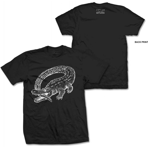 Catfish And The Bottlemen - Alligator Men's XX-Large T-Shirt - Black