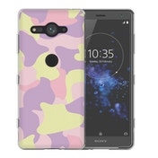 Sony Xperia XZ2 Compact Pink Camouflage TPU Gel Case