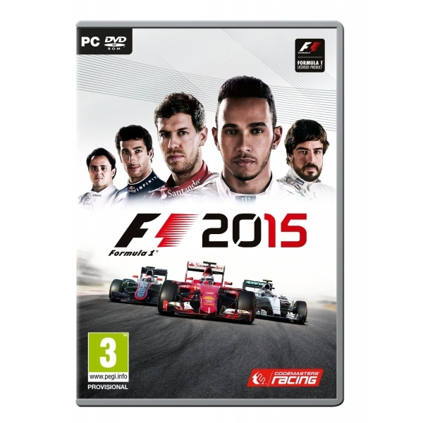 Formula 1 F1 2015 PC Game - Image 1