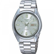 Seiko SNXS73K Seiko 5 Mens Automatic Watch Silver with Silver Face
