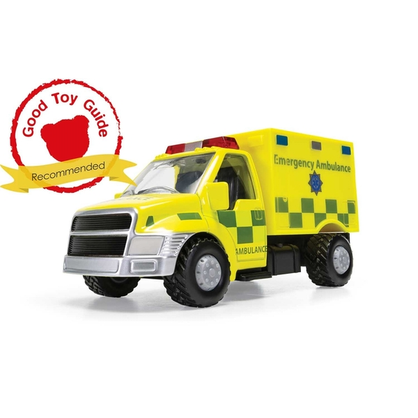 Emergency Ambulance Truck UK Chunkies Corgi Diecast Toy