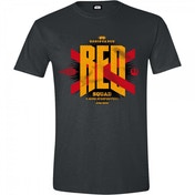 Star Wars The Force Awakens - Red Squad Men's Small T-Shirt - Black