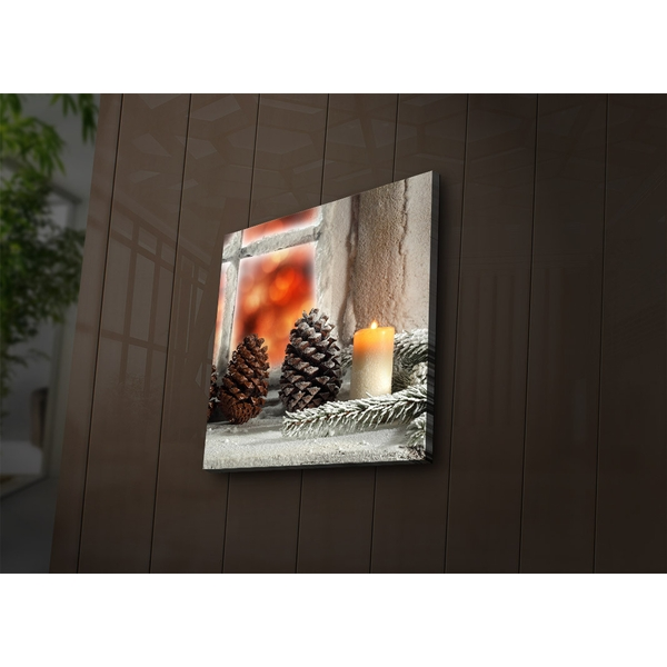 4040?ACT-35 Multicolor Decorative Led Lighted Canvas Painting