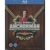 Anchorman Exclusive Limited Edition Steelbook Blu-ray