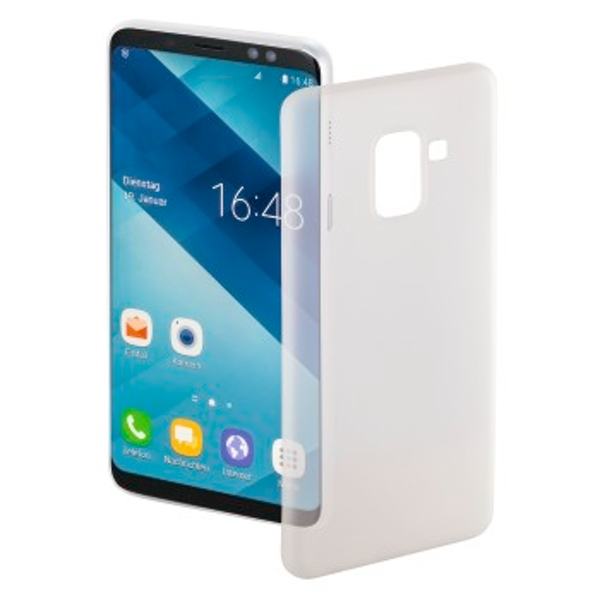 "Hama ""Ultra Slim"" Cover for Samsung Galaxy A6 (2018), white"