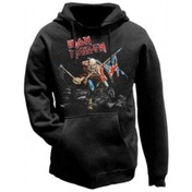 Iron Maiden The Trooper Mens Hoodie: Large