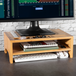 Bamboo Monitor Stand 2 Tier | M&W - Image 2