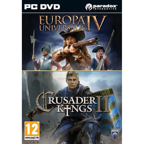 Crusader Kings II & Europa Universalis IV Twin Pack PC Game