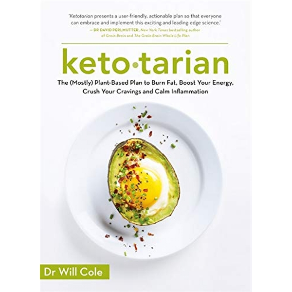 Ketotarian The (Mostly) Plant-based Plan to Burn Fat, Boost Energy, Crush Cravings and Calm Inflammation Paperback / softback 2019