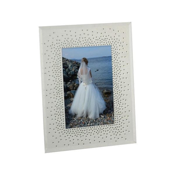 Celebrations Wedding Starburst Crystal Frame | 5x7
