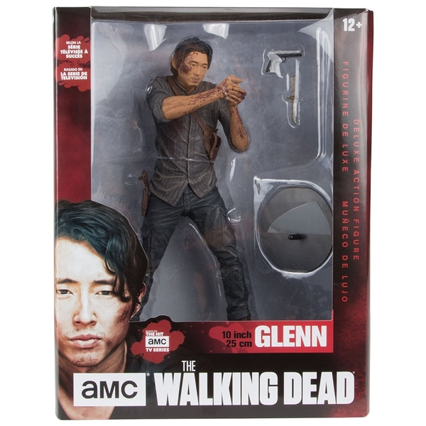 Glenn Bloody Version (Walking Dead TV ) Legacy Edition 10 inch Deluxe Action Figure - Image 2