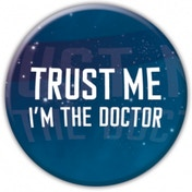 Doctor Who Trust Me Badge