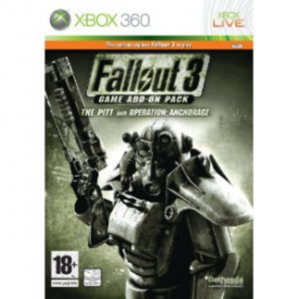 Fallout 3 Add-On Pack The Pitt & Operation Anchorage Expansion Pack Game Xbox 360