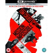 Mission Impossible 1-5 Boxset  4K UHD   Blu-ray Region Free