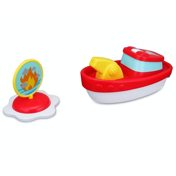 BB Junior Splash & Play Fire Boat Toy