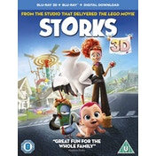 Storks Blu-ray 3D   Blu-ray   Digital Download