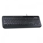 Microsoft Wired Keyboard 600 Black UK Layout