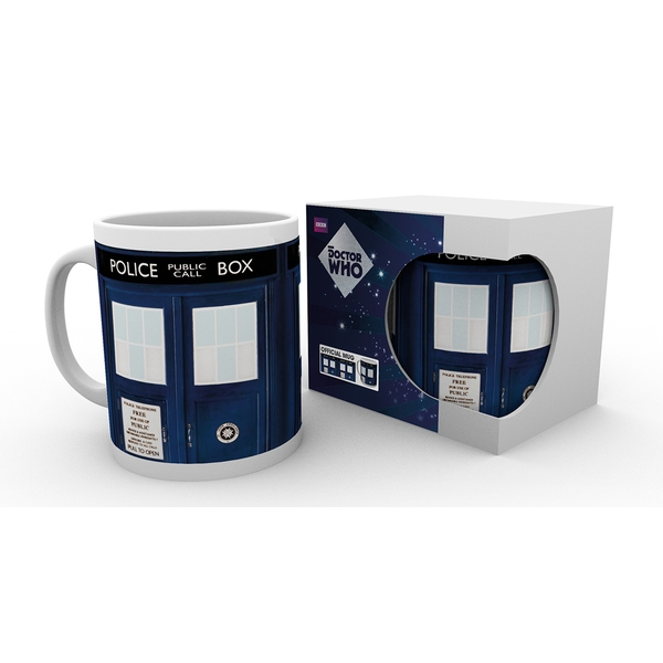Official Doctor Who Tardis Mug