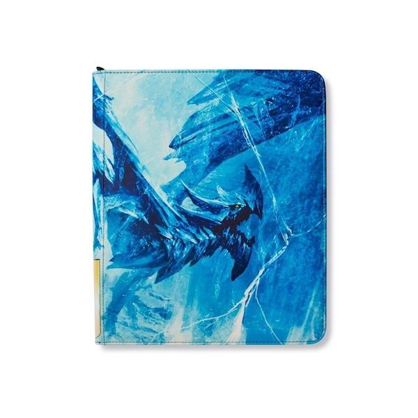 Dragon Shield Card Codex ZIPSTER Binder- Borcea Art incl 18/16 pp Limited Edition