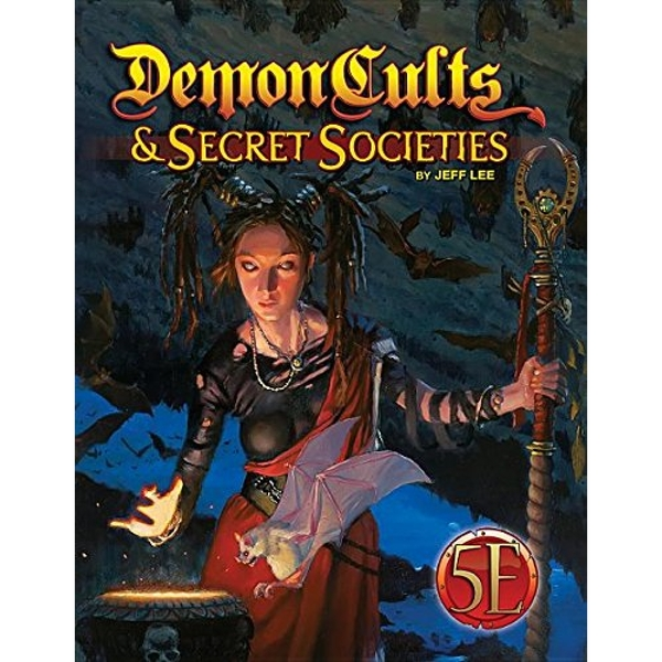 Demon Cults and Secret Societies for D&d 5th Edition (Hardcover)