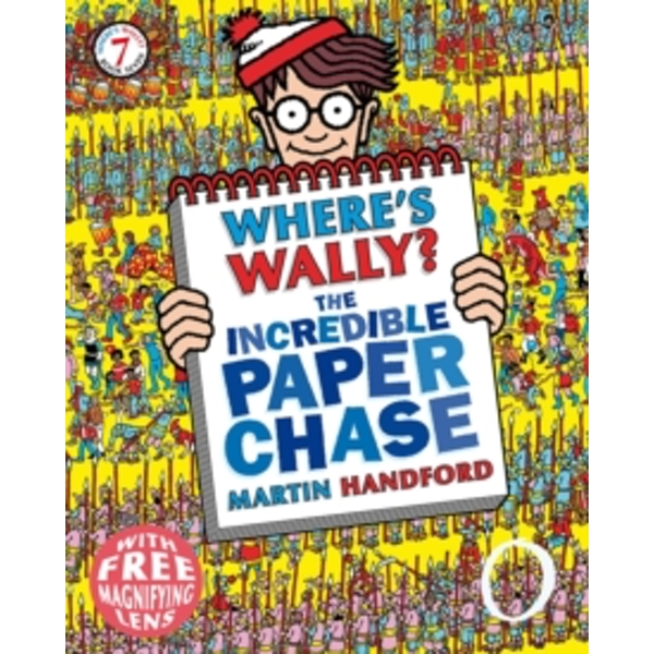 Where's Wally? The Incredible Paper Chase by Martin Handford (Paperback, 2013)