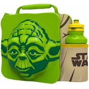 Yoda (Star Wars) 3D Childrens Lunch Bag With Bottle