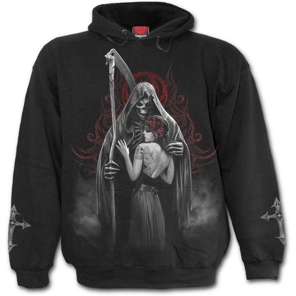 Dead Kiss Men's X-Large Hoodie - Black