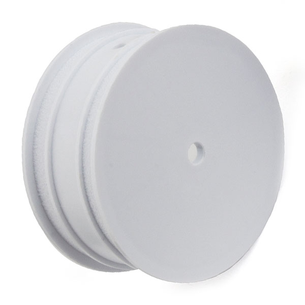 "ASSOCIATED BUGGY WHEEL 12MM HEX 2.2"" 4WD FRONT WHITE B64/B74"