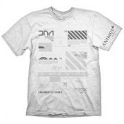 Assassin's Creed Men's T-shirt X-Large Animus Powered By Abstergo Industries