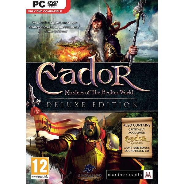 Eador Masters of the Broken World Deluxe Edition PC Game