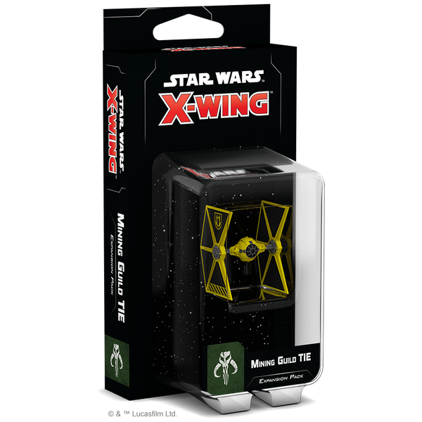 Star Wars X-Wing: Mining Guild TIE Expansion Board Game