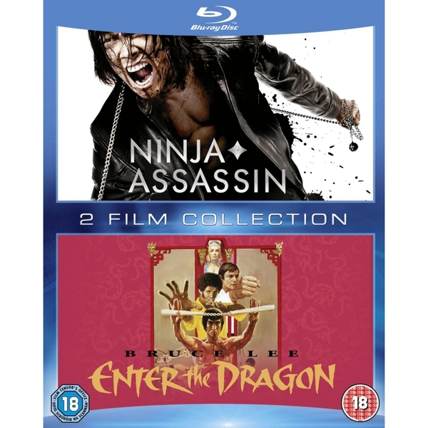 Ninja Assassin & Enter the Dragon Double Pack Blu-ray