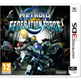 Metroid Prime Federation Force 3DS Game