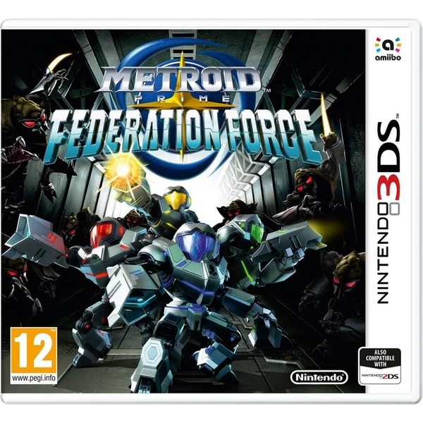 Metroid Prime Federation Force 3DS Game - Image 1