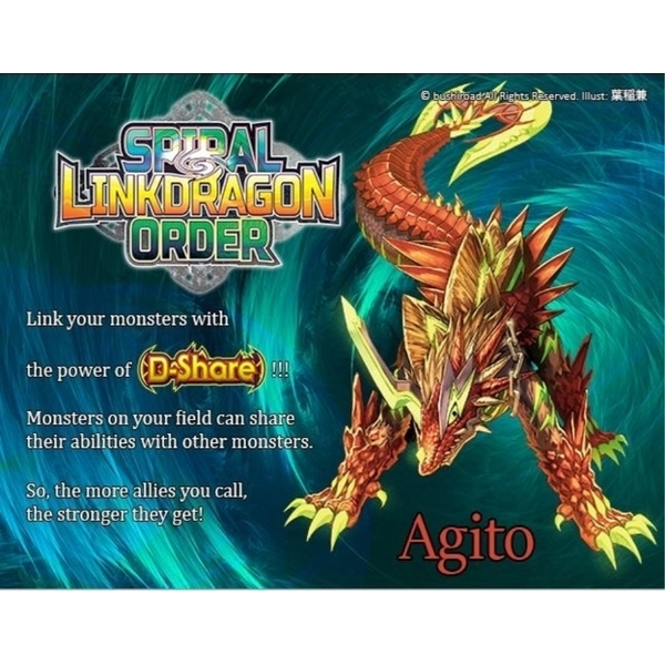 Future Card Buddyfight TCG: Spiral Linkdragon Order Starter Deck