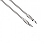 Hama Colour Line Audio Cable (Silver) Aluminium 1m