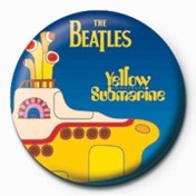 The Beatles - Submarine Badge