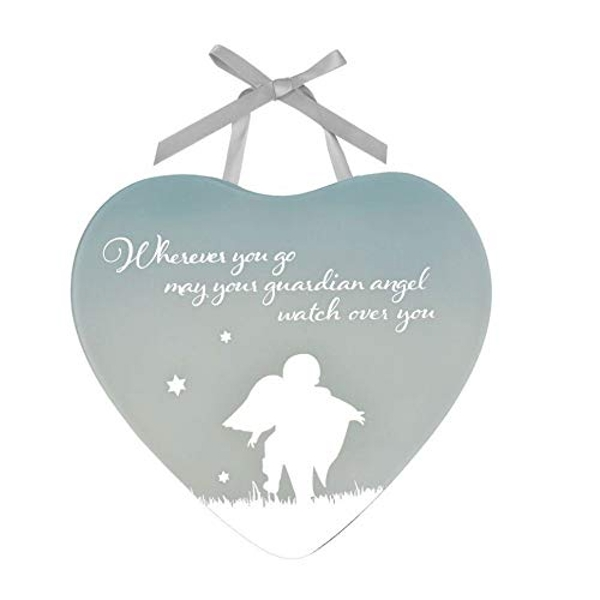 Reflections Of The Heart Guardian Angel Plaque
