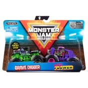 Monster Jam 2 Pack - Monster Trucks - Double Down Showdown (Random Design)
