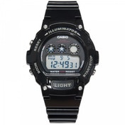 Casio W-214HC-1AVEF Illuminator Sports Digital Chrongraph Watch