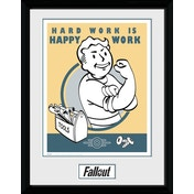 Fallout Hard Work Collector Print