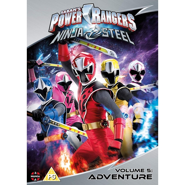 Power Rangers Ninja Steel: Adventure (Volume 5) Episodes 17-20 & Christmas Special DVD