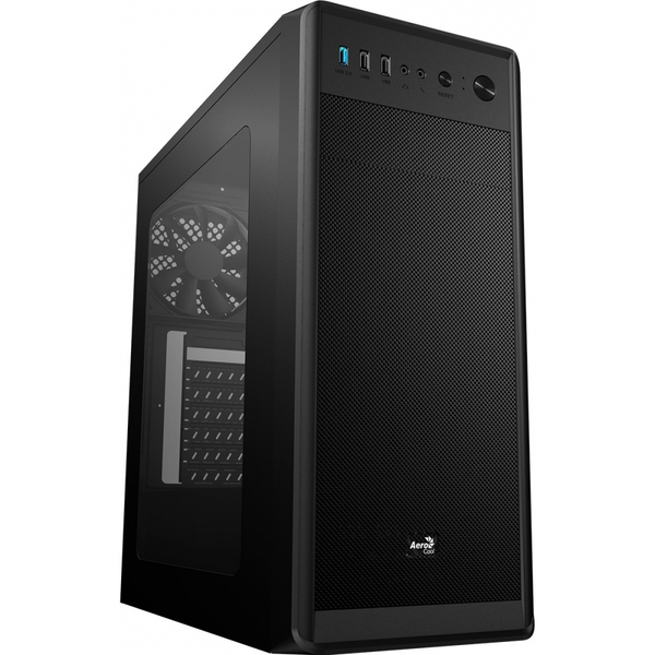 Aerocool SI 5100 Mid Tower Case With 2 x USB 2.0 1 x USB 3.0 With Side Window