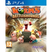 Worms Battlegrounds PS4 Game