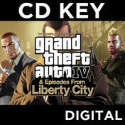 Grand Theft Auto IV 4 GTA Complete Edition PC CD Key Download for Steam