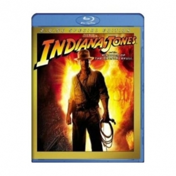 Indiana Jones and the Kingdom of the Crystal Skull Blu-ray